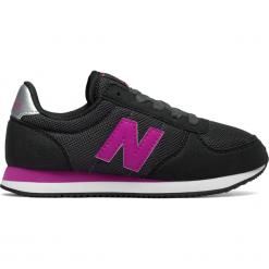 New Balance KL220BPY. Czarne buty sportowe chłopięce New Balance, z materiału. W wyprzedaży za 129.99 zł.