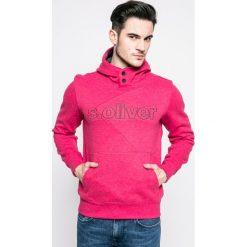 S. Oliver - Bluza. Różowe bluzy sportowe męskie S.Oliver, z aplikacjami, z bawełny. W wyprzedaży za 159.90 zł.