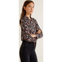 Mango - Koszula Monu. Szare koszule damskie Mango, z tkaniny, z długim rękawem. Za 139.90 zł.