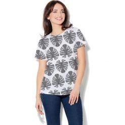 Colour Pleasure Koszulka damska CP-030 273 biało-czarna r. XS/S. T-shirty damskie Colour Pleasure. Za 70.35 zł.