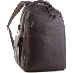 Plecak PIQUADRO - CA3444B3BM/TM Brązowy. Brązowe plecaki damskie Piquadro, ze skóry. Za 2,299.00 zł.