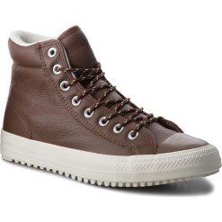 Trampki CONVERSE - Ctas Boot Pc Hi 157685C Dark Clove/Dark Clove. Brązowe trampki męskie Converse, z gumy. W wyprzedaży za 309.00 zł.