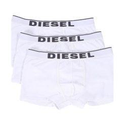 Diesel Bokserki Męskie 3 Pack Damien L Białe. Białe bokserki męskie Diesel, z bawełny. Za 179.00 zł.