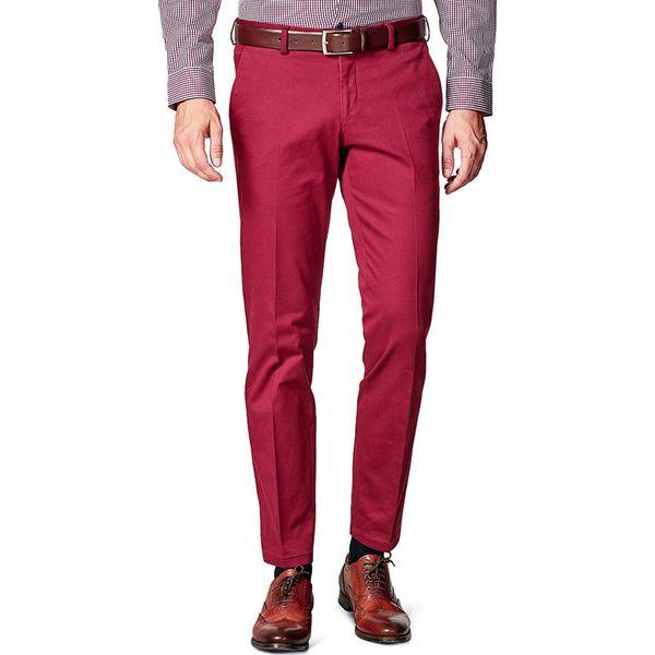 cfc18693 Spodnie w kolorze bordowym