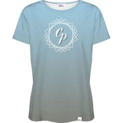 Colour Pleasure Koszulka damska CP-030 292 niebiesko-szara r. XXXL/XXXXL. T-shirty damskie Colour Pleasure. Za 70.35 zł.