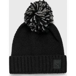 Puma - Czapka. Czarne czapki i kapelusze damskie Puma. Za 99.90 zł.