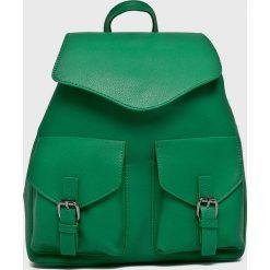 Pieces - Plecak Tyler. Zielone plecaki damskie Pieces, ze skóry ekologicznej. W wyprzedaży za 139.90 zł.