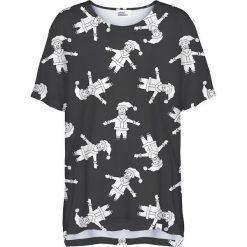 Colour Pleasure Koszulka damska CP-033 293 czarno-biała r. uniwersalny. T-shirty damskie Colour Pleasure. Za 76.57 zł.