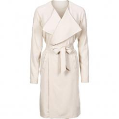 Letni płaszcz, bez podszewki bonprix beżowy. Brązowe płaszcze damskie bonprix, na lato. Za 69.99 zł.