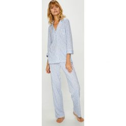 Lauren Ralph Lauren - Piżama. Szare piżamy damskie Lauren Ralph Lauren, z bawełny. W wyprzedaży za 339.90 zł.