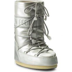 Śniegowce MOON BOOT - Vinile Met. 14021400002 Bianco M. Szare śniegowce i trapery damskie Moon Boot, ze skóry ekologicznej. Za 479.00 zł.