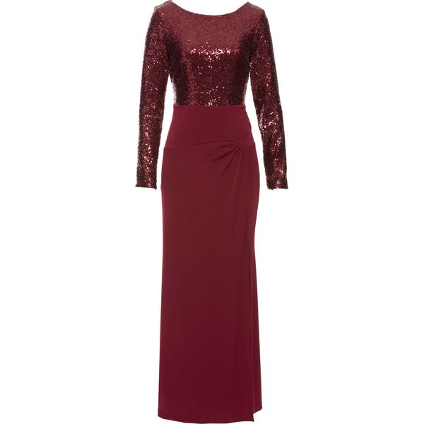 91e60f6194 Sukienka z cekinami bonprix czerwony - Sukienki damskie marki ...