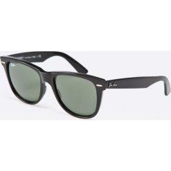 Ray-Ban - Okulary Wayfarer. Szare okulary przeciwsłoneczne męskie Ray-Ban, z acetatu. Za 499.90 zł.