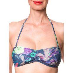 """Biustonosz bikini """"Siramisu"""" w kolorze granatowym ze wzorem. Biustonosze Brunotti. W wyprzedaży za 56.95 zł."""