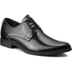 Półbuty LASOCKI FOR MEN - TA-LL45 Black. Czarne eleganckie półbuty Lasocki For Men, z materiału. Za 219.99 zł.