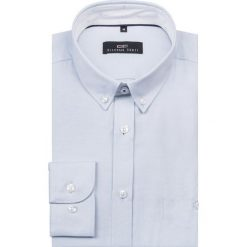 Koszula KDNS000098 SIMONE10D. Szare koszule męskie Giacomo Conti, z bawełny, button down. Za 149.00 zł.
