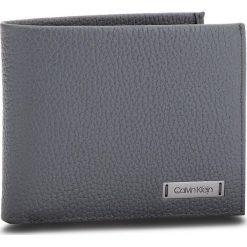 Duży Portfel Męski CALVIN KLEIN - Pebble W Plaque Slim K50K503934 008. Szare portfele męskie Calvin Klein, ze skóry. W wyprzedaży za 179.00 zł.