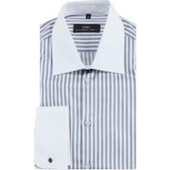 Koszula VITTORE slim 13-12-34. Białe koszule męskie Giacomo Conti, w paski, z bawełny, z klasycznym kołnierzykiem, z długim rękawem. Za 229.00 zł.