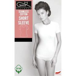 GATTA Koszulka damska Seamless Cotton Short Sleeve czarna r. XL. Bluzki damskie Gatta. Za 51.37 zł.