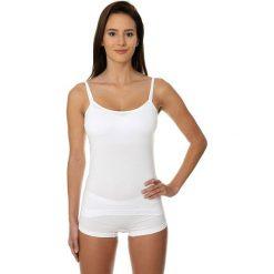 Brubeck Koszulka damska Camisole COMFORT COTTON biała r. M (CM00210A). T-shirty damskie Brubeck. Za 33.21 zł.
