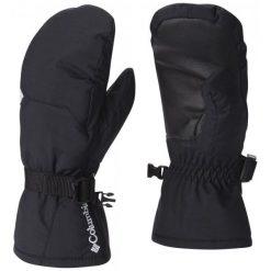 Columbia Rękawiczki Youth Whirlibird Mitten Black Xs. Czarne rękawiczki dziecięce Columbia, z syntetyku. W wyprzedaży za 85.00 zł.