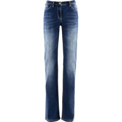 """Dżinsy """"multi-stretch"""" STRAIGHT bonprix niebieski. Jeansy damskie marki bonprix. Za 59.99 zł."""