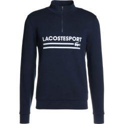 Lacoste Sport SWEATSHIRT WITH ZIP Bluza navy blue/white. Bluzy męskie Lacoste Sport, z bawełny. W wyprzedaży za 424.15 zł.