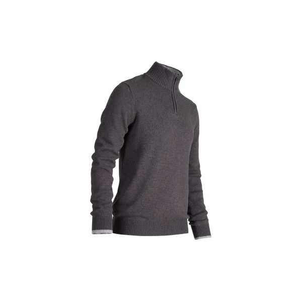 8651e01938a13 Ciepły sweter do golfa c.szary - Chillizet.pl