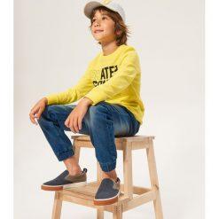 Jeansy jogger - Niebieski. Niebieskie jeansy dla chłopców Reserved. Za 129.99 zł.