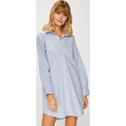 Lauren Ralph Lauren - Koszula nocna. Szare koszule nocne damskie Lauren Ralph Lauren, z bawełny. W wyprzedaży za 319.90 zł.