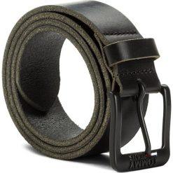 Pasek Męski TOMMY JEANS - Tjm Classic Belt 4.0 AM0AM03363 002. Czarne paski damskie Tommy Jeans, w paski, z jeansu. Za 179.00 zł.
