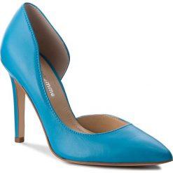 Szpilki SOLO FEMME - 34278-A7-G19/000-04-00 Niebieski. Niebieskie szpilki damskie Solo Femme, ze skóry. W wyprzedaży za 199.00 zł.