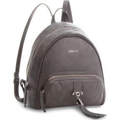 Plecak LIU JO - Backpack Piave A68116 E0027 Grape Juice 93803. Szare plecaki damskie Liu Jo, ze skóry ekologicznej, eleganckie. Za 649.00 zł.