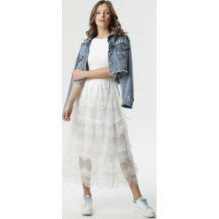Białe spódnice damskie ze sklepu born2be.pl Kolekcja