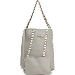 Torebka NOBO - NBAG-C4170-C019 Szary Z Białym. Szare torebki do ręki damskie Nobo, ze skóry ekologicznej. W wyprzedaży za 119.00 zł.