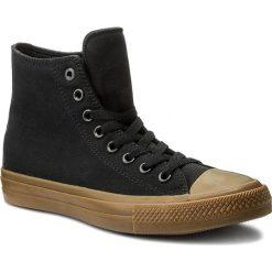 Trampki CONVERSE - Ctas II Hi 155496C  Black/Gum. Czarne trampki męskie Converse, z gumy. W wyprzedaży za 189.00 zł.