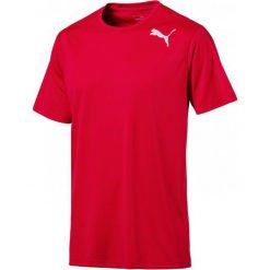 Puma Koszulka Sportowa Essential Ss Tee Toreador Xl. Czerwone koszulki sportowe męskie Puma, z materiału. W wyprzedaży za 69.00 zł.