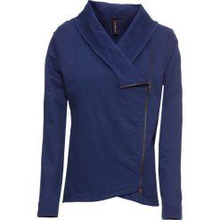 Bluza rozpinana z asymetrycznym zamkiem bonprix kobaltowy. Bluzy damskie marki KALENJI. Za 109.99 zł.