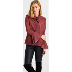 Naoko - Bluzka Wildfire x Edyta Górniak. Szare bluzki damskie NAOKO, z elastanu, casualowe. W wyprzedaży za 99.90 zł.