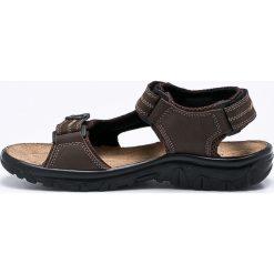 Marco Tozzi - Sandały. Czarne sandały męskie Marco Tozzi, z materiału. W wyprzedaży za 129.90 zł.
