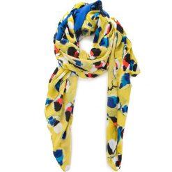 Szal DESIGUAL - 18SAWW92 4123. Żółte szaliki i chusty damskie Desigual, z materiału. W wyprzedaży za 139.00 zł.