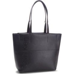 Torebka CALVIN KLEIN - Dual Shopper K60K604473  001. Czarne torebki shopper damskie Calvin Klein, ze skóry ekologicznej. Za 599.00 zł.