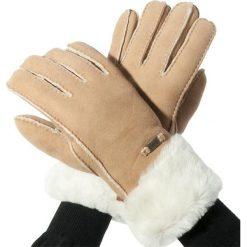 Rękawiczki Damskie EMU AUSTRALIA - Apollo Bay Gloves M/L Chestnut. Brązowe rękawiczki damskie Emu Australia, z materiału. Za 419.00 zł.