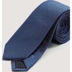 Mango Man - Krawat Mix. Brązowe krawaty i muchy Mango Man, z jedwabiu. Za 119.90 zł.