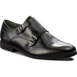 Półbuty VAGABOND - Linhope 4570-001-20 Black. Czarne eleganckie półbuty Vagabond, z materiału. W wyprzedaży za 359.00 zł.