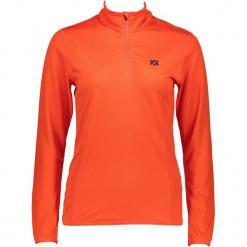 Koszulka funkcyjna w kolorze oliwkowym. Brązowe t-shirty damskie Völkl, ze stójką. W wyprzedaży za 130.95 zł.