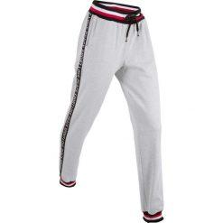 Spodnie dresowe, długie, Level 1 bonprix jasnoszary melanż. Spodnie dresowe damskie marki bonprix. Za 79.99 zł.