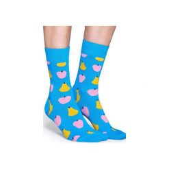 Skarpetki Happy Socks  FRU01-6000. Szare skarpety męskie Happy Socks, z bawełny. Za 24.43 zł.
