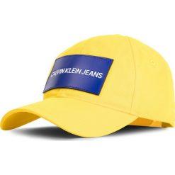 Czapka z daszkiem CALVIN KLEIN JEANS - Cap M K40K400863 709. Żółte czapki i kapelusze męskie Calvin Klein Jeans. Za 159.00 zł.