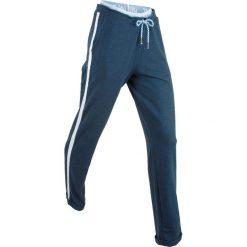 Spodnie dresowe, długie, Level 1 bonprix ciemnoniebieski melanż. Spodnie dresowe damskie marki bonprix. Za 89.99 zł.